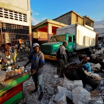Port-Au-Prince by moto taxi